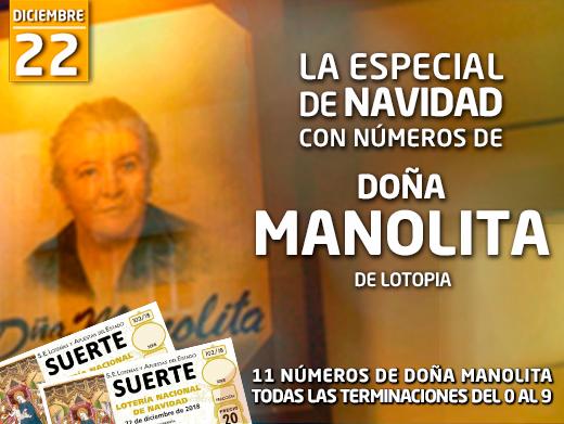 La Especial de Navidad con Números de Doña Manolita
