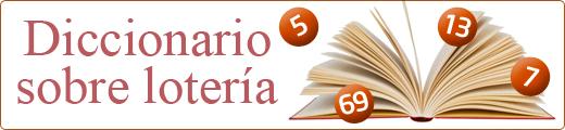 Diccionario Lotería